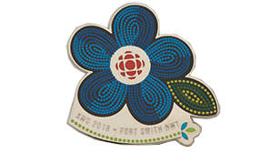 Company Logo Pins