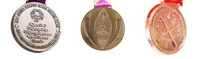 Die case medal examples