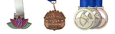Die Struck Medal Examples