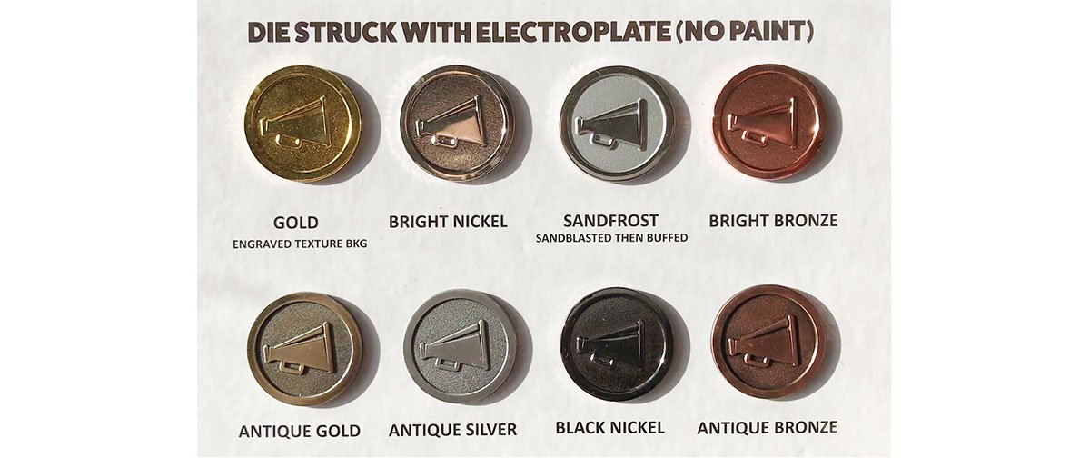 DIY Enamel Pin Design: Electroplating