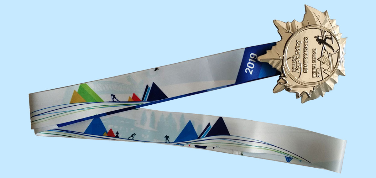 custom printed ribbons for medals and awards