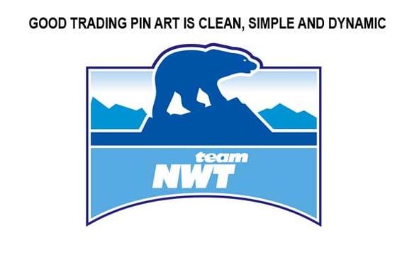 custom sport trading pin art