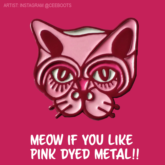 pink-metal-cat