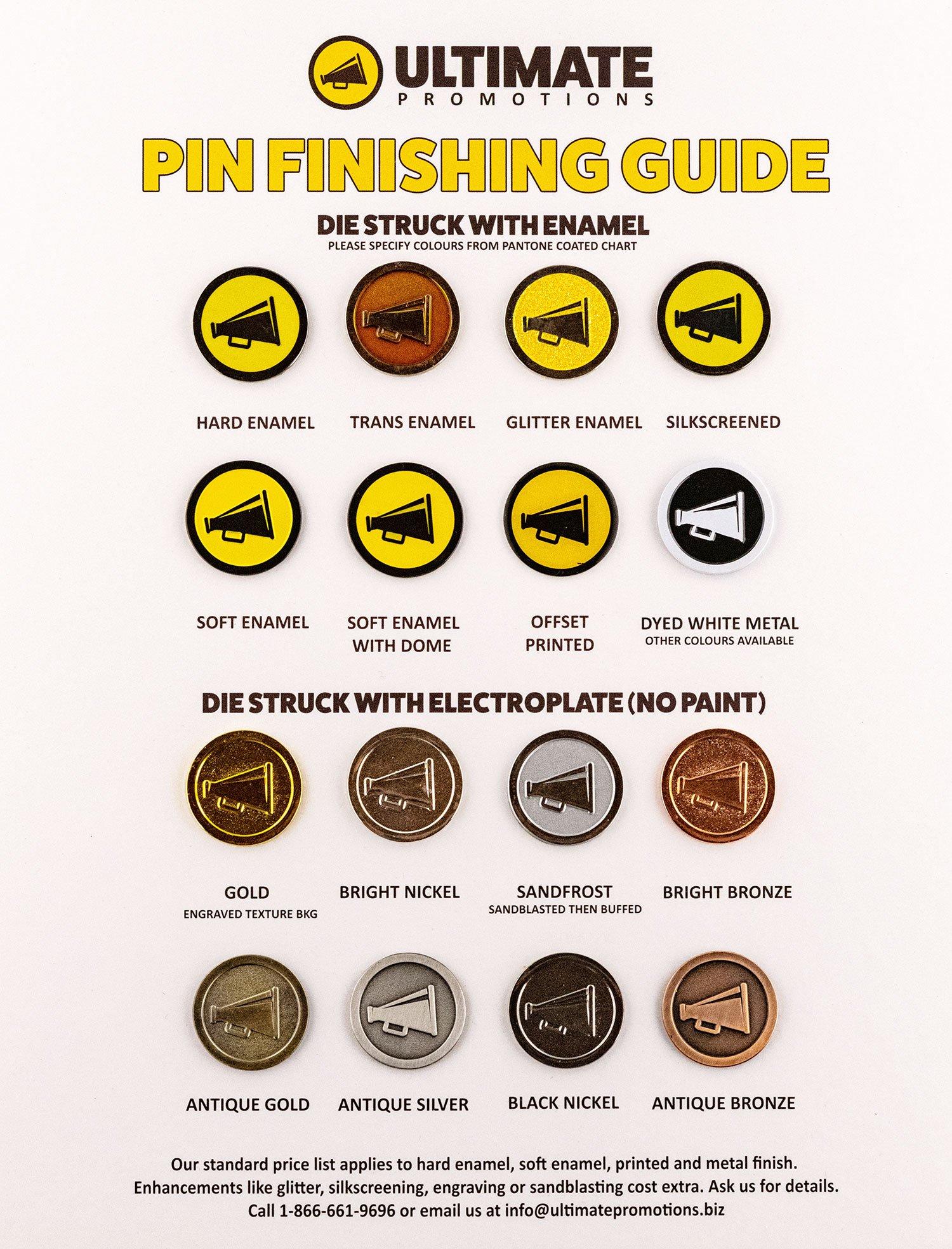 enamel pin finishing guide