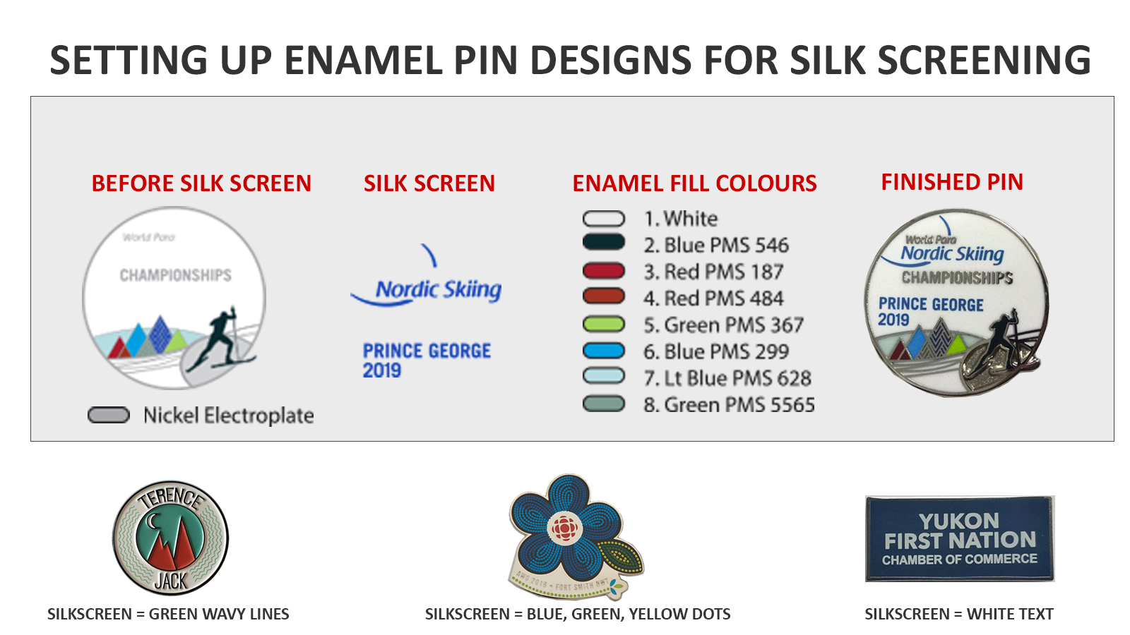 how to use silkscreens in enamel pin designs