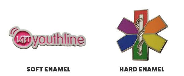 soft vs hard enaml pins