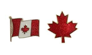 Stock Canada Flags