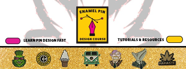 Free Enamel Pin Design Course And Tips