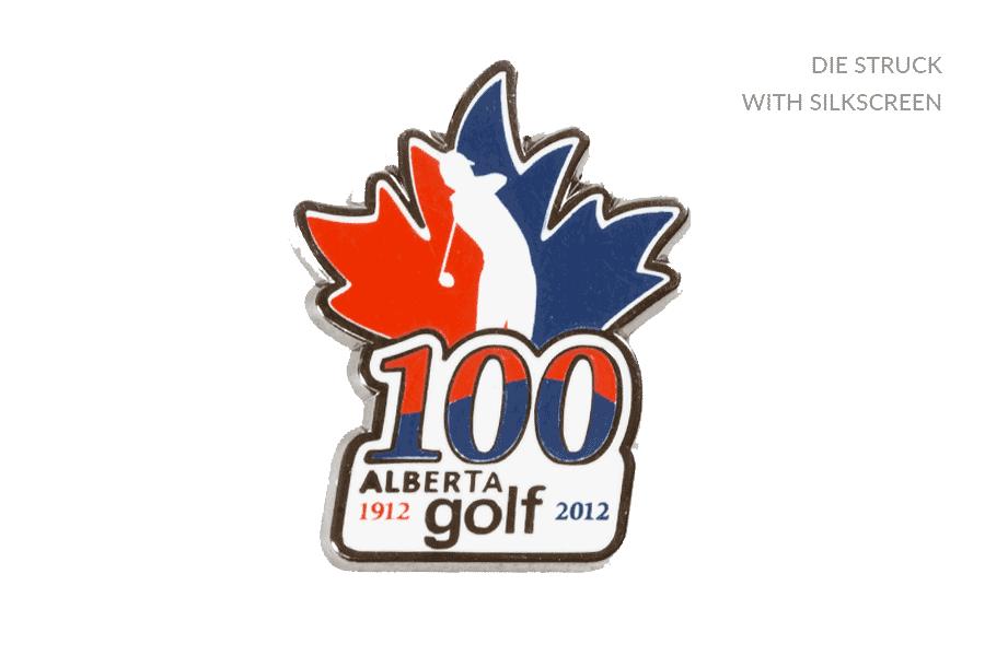 Golf Alberta Pin