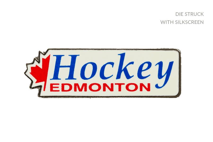 Hockey Alberta Trading Pin