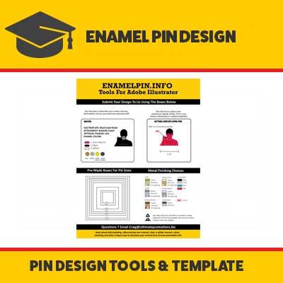 DIY Enamel Pin Design: Illustrator Swipe File