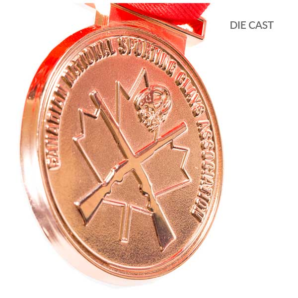 Canadian Trap Shooting Medals